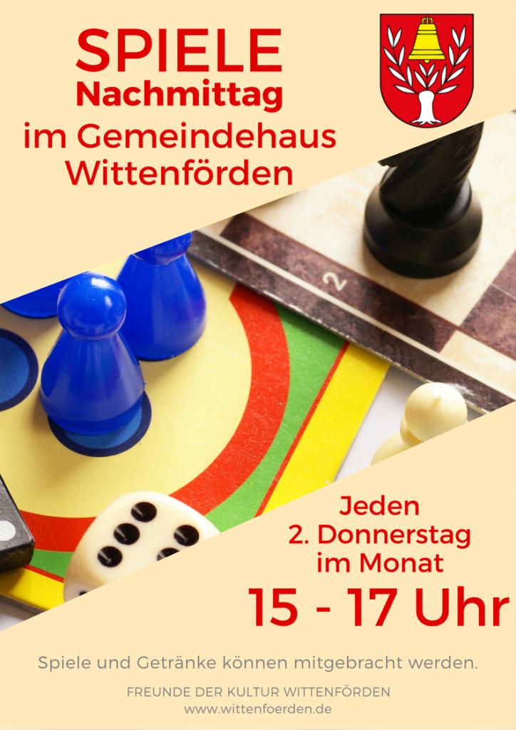Spiele-Nachmittag – Wittenförden.de